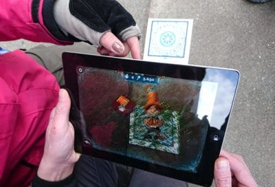 "Bild für ""Outdoor Action GPS Game"""